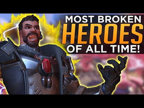 Overwatch: Top 5 Most Overpowered Heroes of All Time