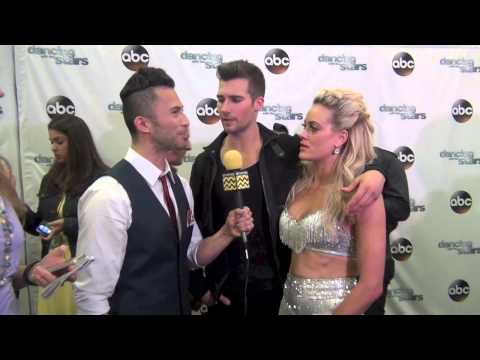 Dancing With The Stars - James Maslow & Peta Murgatroyd AfterBuzz TV Interview May 5th 2014