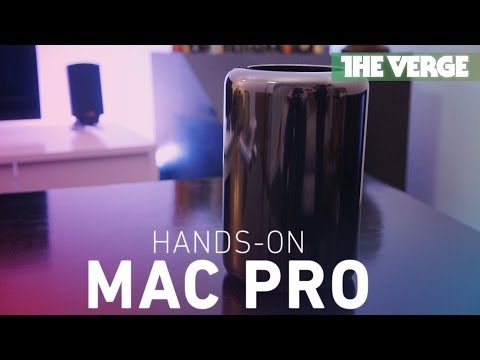 Mac Pro 2013 hands-on: a look at Apple's miniature powerhouse