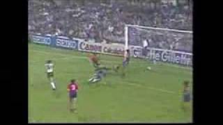 Gerry Armstrong's Goal For Northern Ireland V Spain In The