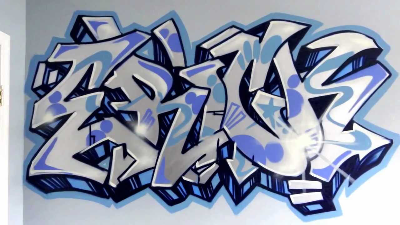 The Name Eric in Graffiti Letters
