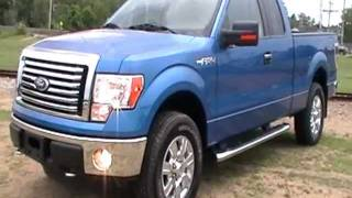 2011 FORD F150 SUPERCAB XLT BLUE FLAME CHROME PKG $34986 4X4 WWW.NHCARMAN.COM.MOD videos