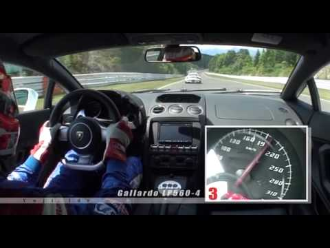 Manthey M700 vs. R35 GT-R  vs. Gallardo LP560-4 vs. Ferrari F460GT  vs