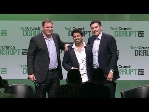 TechCrunch Fan Crashes The Stage! | Disrupt Europe 2013