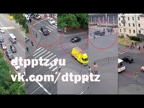 На проспекте Ленина 18-летний водитель без права управления с признаками опьянения совершил несколько ДТП