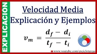 Velocidad média - Física