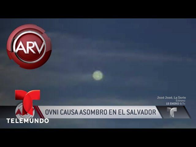 Asombroso: captan a OVNI volando sobre El Salvador