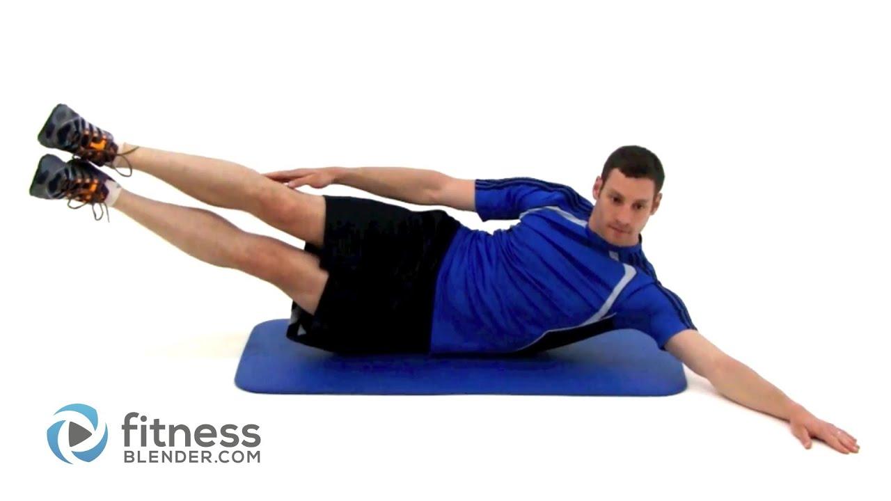Pilates Oblique Crunch with Leg Raise (Lv 1) - YouTube