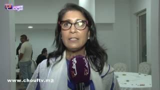 البطلة و الوزيرة السابقة:نوال المتوكل مُتأثرة بلقاء أبطال المغرب بالرباط |