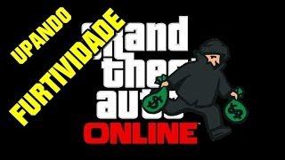 GTA 5 Online: Como Upar Furtividade Rapido!!! (Gta 5