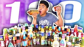 Do Not Mix 100 SAUCES Together!