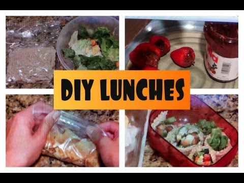 DIY Lunch Ideas (Back to School)