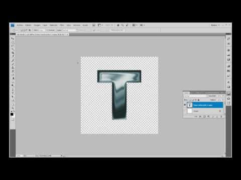 Tutorial Photoshop Letras metálicas oxidadas