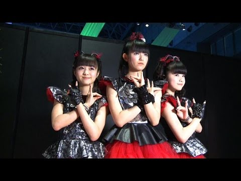Japan's Babymetal plot world domination with Lolita rock