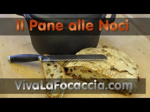 Ricetta Pane Semplice con le Noci