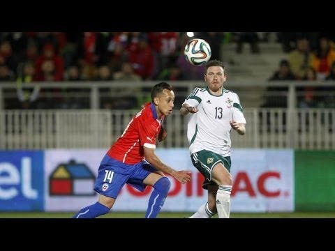 05.06.2014 Chile vs Northern Ireland 2:0 Highlights