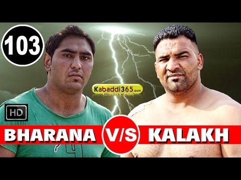 Bharana Vs Kalakh Best Match in Jodhan (Ludhiana) By Kabaddi365.com