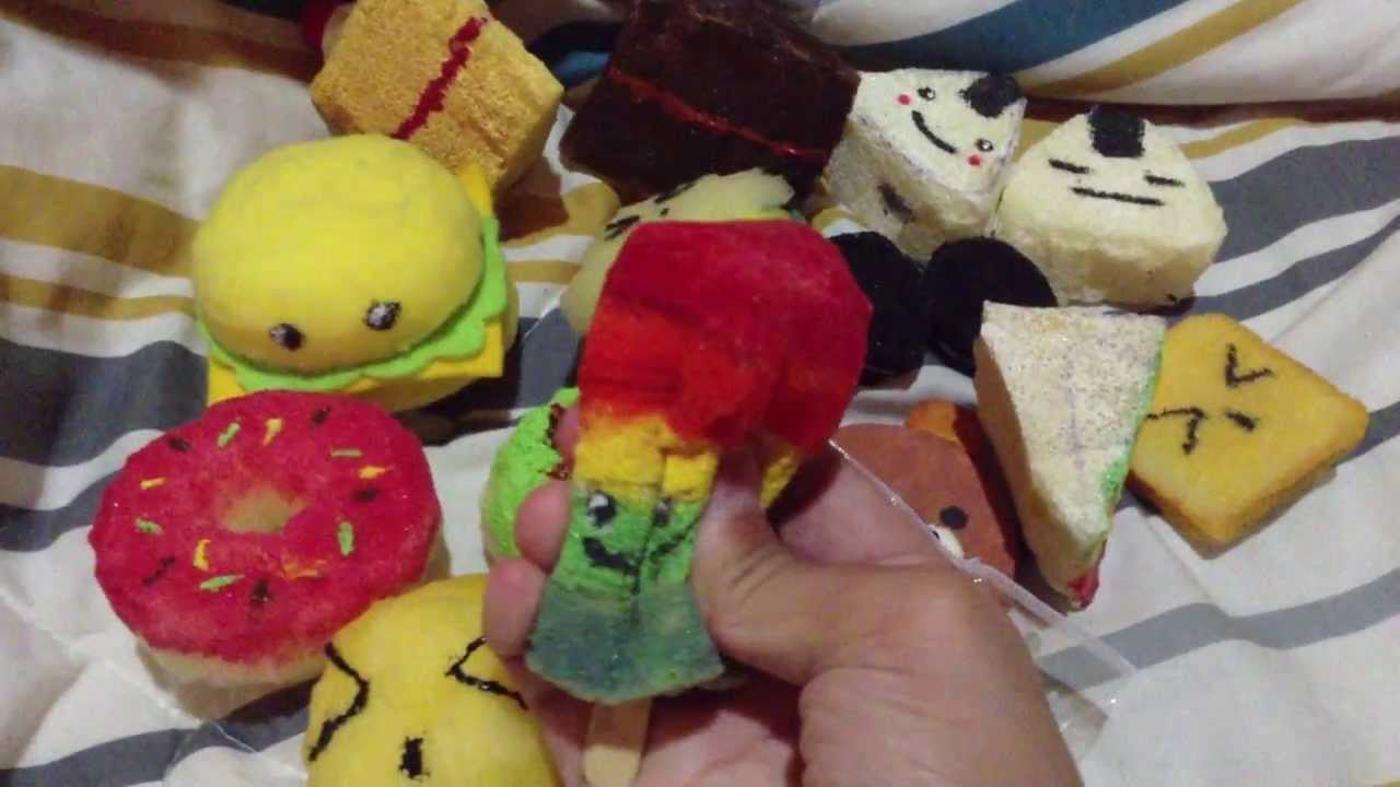 Homemade Squishy Collection 2014 : Homemade squishy collection! :D - YouTube