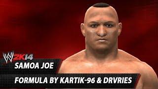 WWE 2K14: Samoa Joe CAW Formula By Kartik 96, DrVries