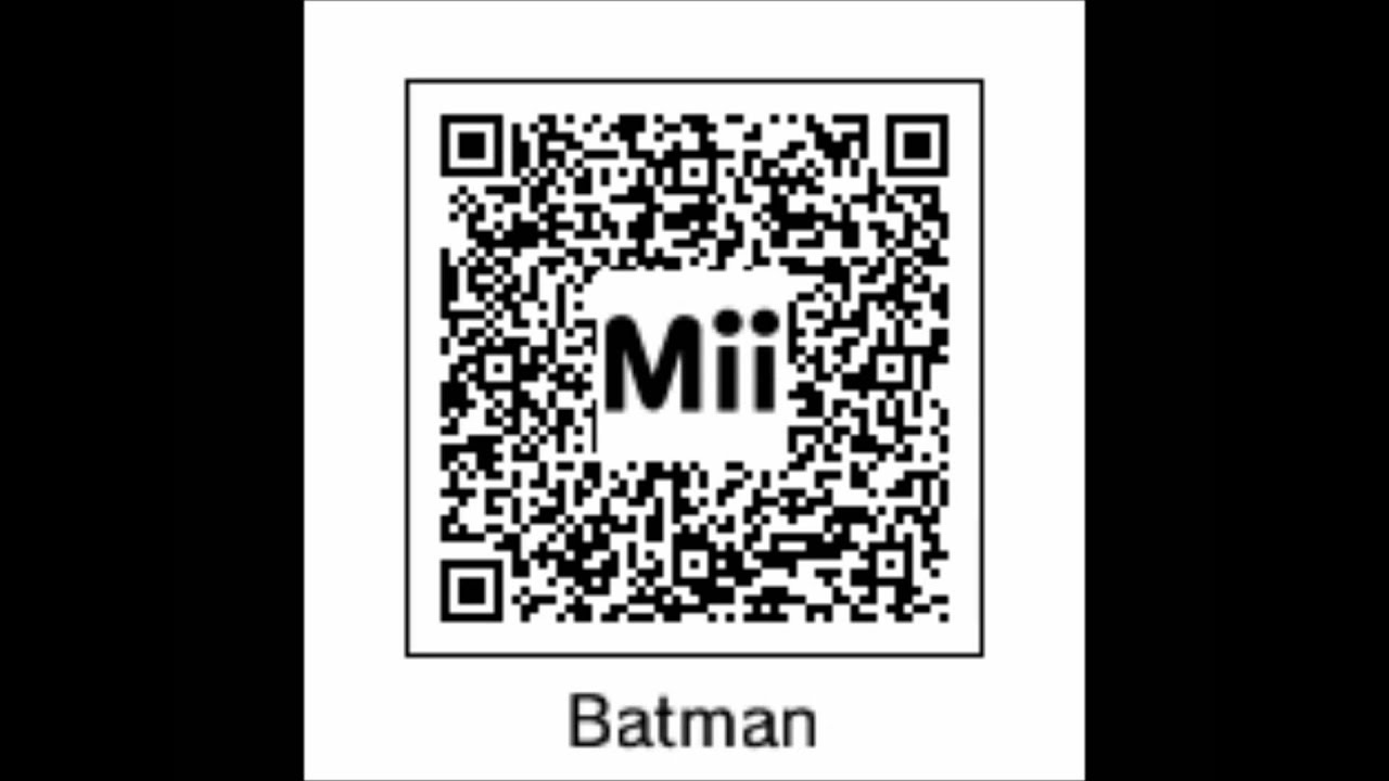 Quelques Qr Codes Miis 3DS - YouTube