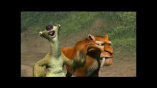 Ice Age 2 Crossing The Steam Field Clip