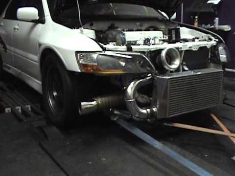 SM EVO 8 Dyno pull 1003 awhp 704 Tq