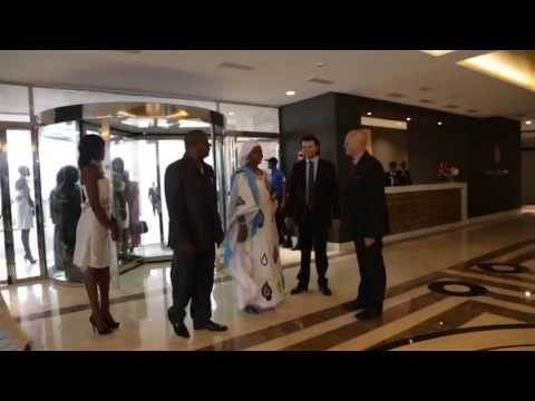 Hotel Conakry. Palm Camayenne. Inauguration.