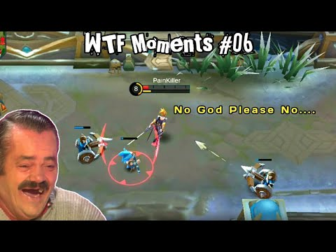 Mobile Legends WTF Funny Moments #06 | Moskov iQ  300 Moments