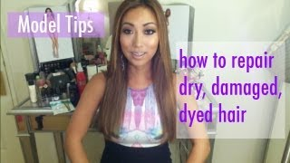 How To Repair Dry, Damaged, Dyed Hair ♡ Arika Sato