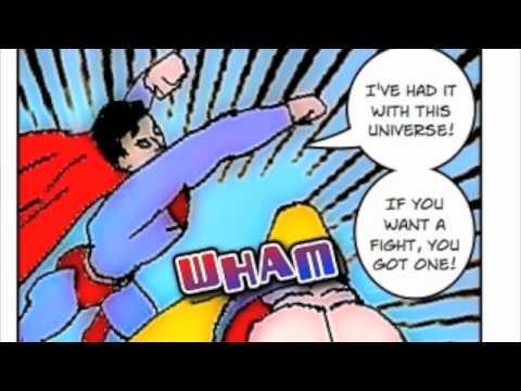 Related Pictures superman vs goku comic art