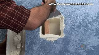 How To Fix Drywall Wall Stud Patch Drywall Repair