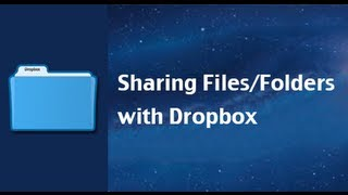 How To Share Files And Folders With Dropbox