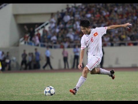 Xuân Trường chuyền bóng- U19 Việt Nam Xuan Truong
