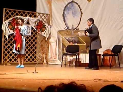 ClubulVESELIEI MIOVENI-teatru Instructor IONUT VLAD giony spectCARAGIALE 2013colaj scenete
