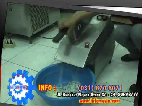 Teknologi Mesin Pengolah Makanan:  Potong Keripik Moderen. Info: 08883203340.