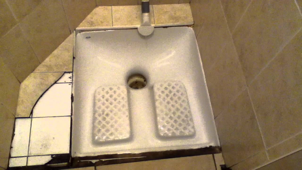 french squat toilet part 2 youtube. Black Bedroom Furniture Sets. Home Design Ideas