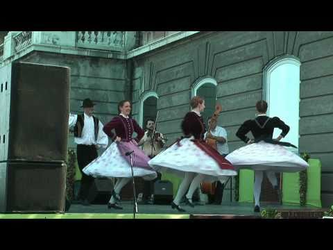 Hungarian Folk Dancing in Budapest, Hungary