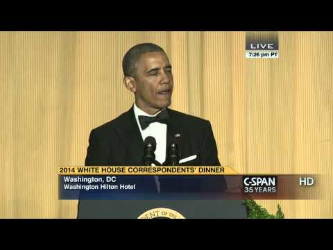 President Obama remarks at 2014 White House Correspondents' Dinner (C-SPAN)