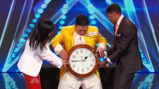 America's Got Talent 2014 Auditions Grand Master Qi