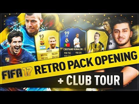 RETRO FIFA 17 PACK OPENING + MEIN GESAMTER VEREIN 🔥😱