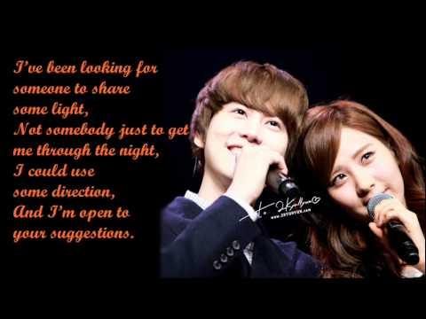 SeoHuyn (SNSD) & KyuHuyn (SuJu) - Way Back Into Love / with lyrics on screen