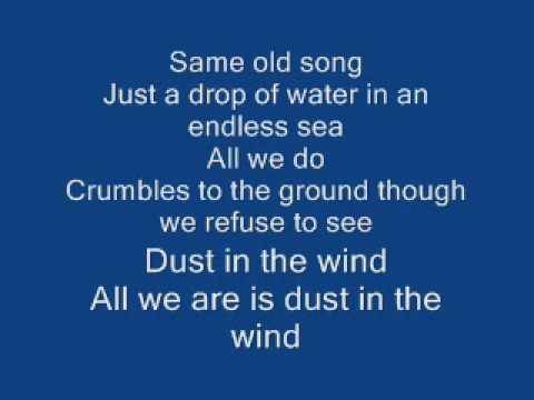 Kansas – Dust in the Wind Lyrics   Genius Lyrics