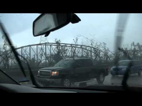 Chasing the May 20th Tornado through Newcastle to Moore OK