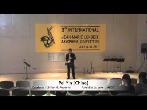 Pei Yin China Capriccio n  24 by N  Paganini