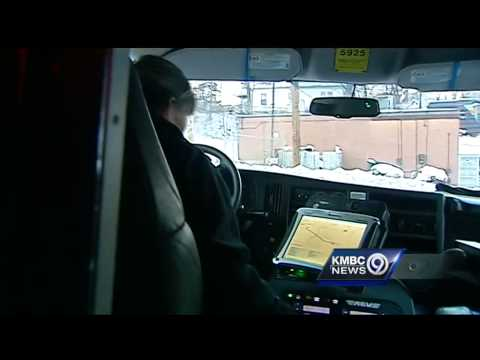 Kansas medics describe stress of snowy streets