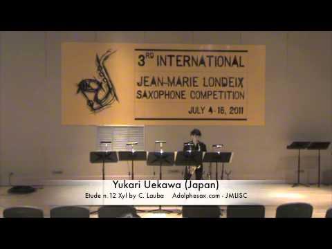 3rd JMLISC: Yukari Uekawa (Japan) Etude n.12 Xyl by C. Lauba