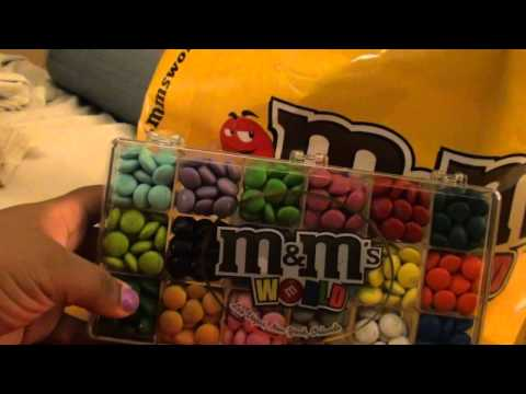 M&M World Haul, M%M World , You guys have to go visit!! they have the cutest gadgets, candies, decorations, just everything with your favorite mm character. They are located...