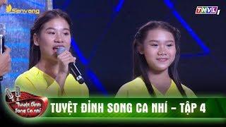 Đôi song ca nhí với chất giọng ngọt ngào, nhẹ nhàng qua ca khúc 'Hồn quê'