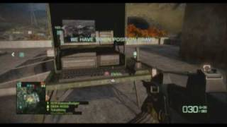 Battlefield Bad Company 2 : Multiplayer Gameplay (Xbox 360)