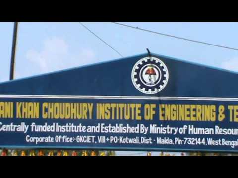 Ghani khan Choudhury Institute Of Engineering & Technology CEREMONY (2013) Part 01